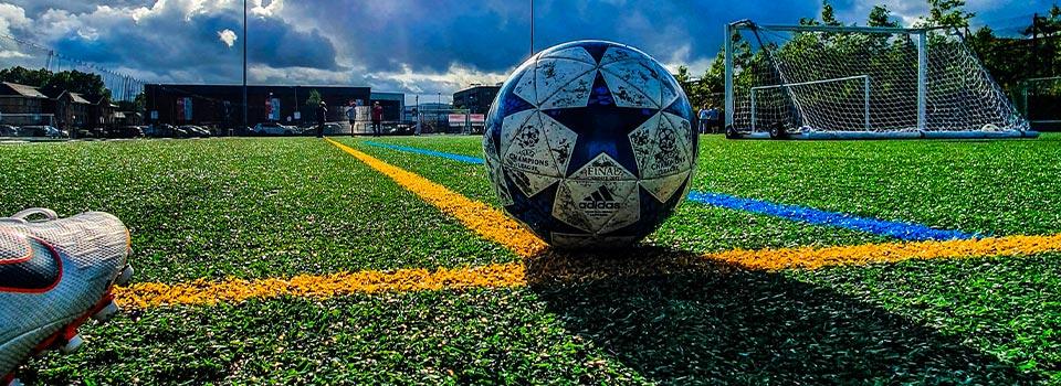 Pallone calcio di punizione ASD Real Orione